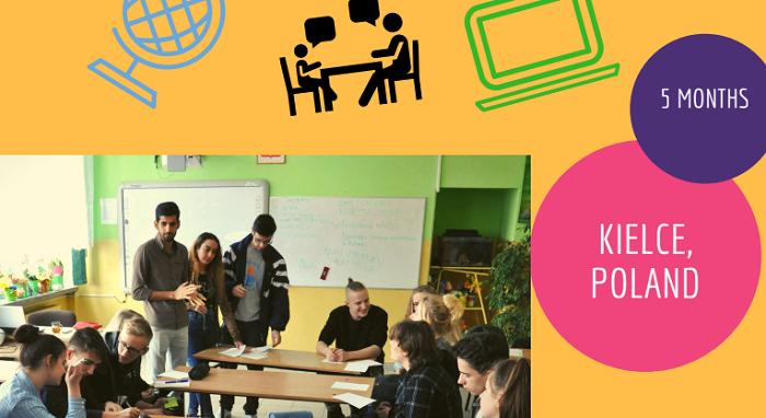 Poziv za prostovoljko/-ca za EVS projekt na Poljskem