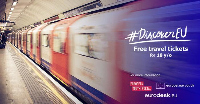 Novi krog pobude Discover EU – vozovnice po Evropi za mlade, stare 18 let