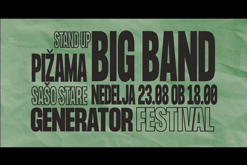 Boštjan Gorenc Pižama in Sašo Stare + koncert Big band Krško