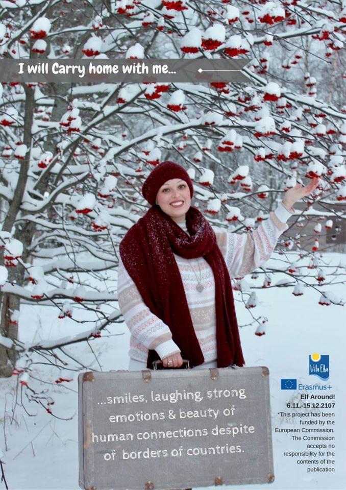 Elf start! FINSKA – iščemo prostovoljce