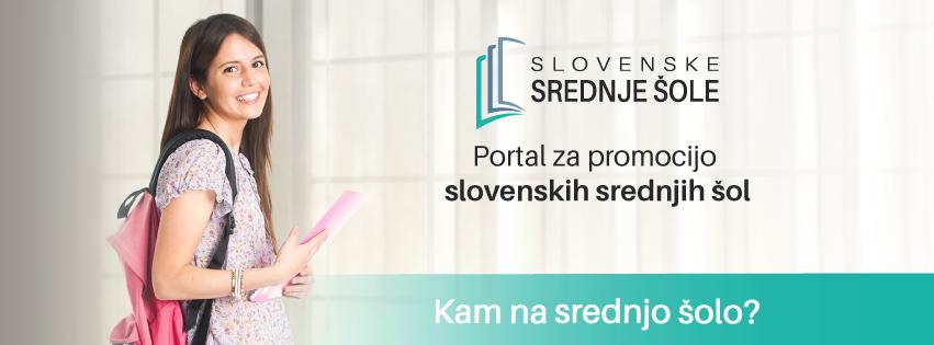 Nov portal: Slovenske srednje šole