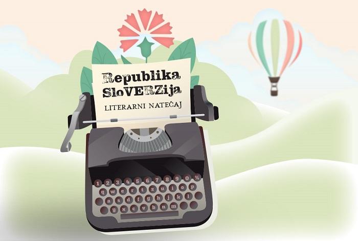 Literarni natečaj Republika SloVERZija