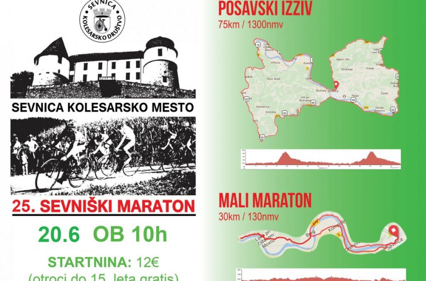 25. Sevniški kolesarski maraton
