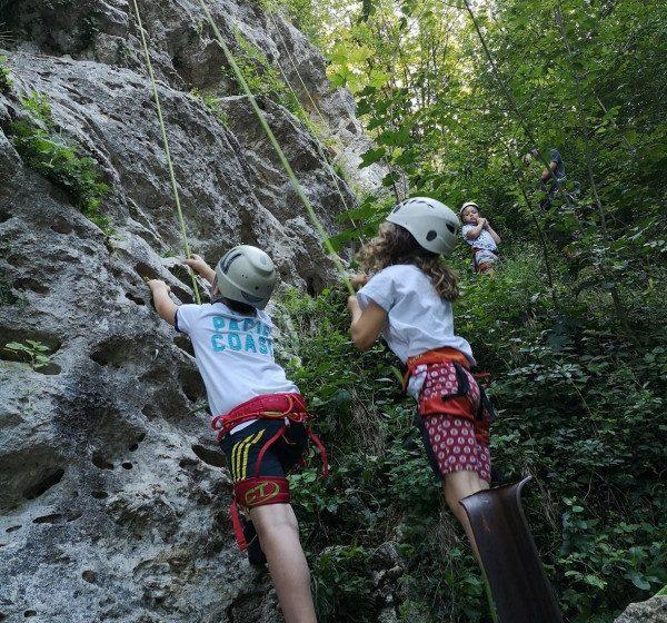 Poletne aktivnosti za otroke: Plezanje za otroke