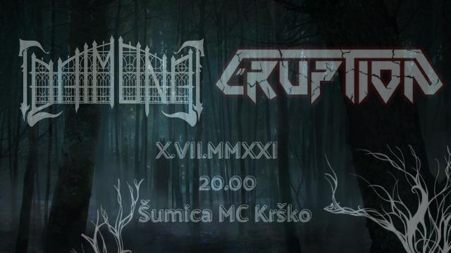 Metal koncert: ERUPTION in DAIMONA