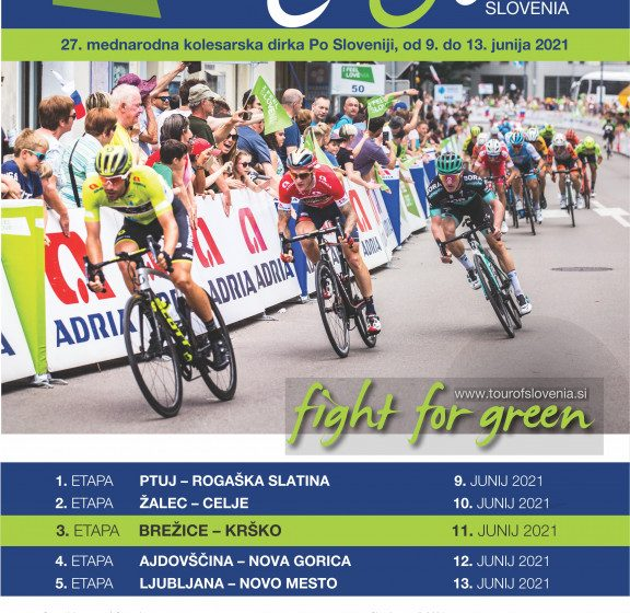 Kolesarska dirka po Sloveniji – 3. etapa Brežice-Krško
