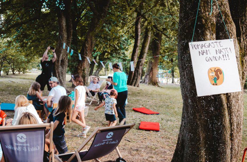 Poletje v parku MC Brežice