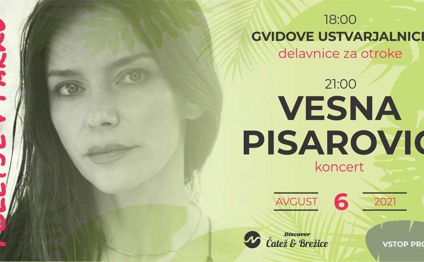 Poletje v parku: Vesna Pisarović